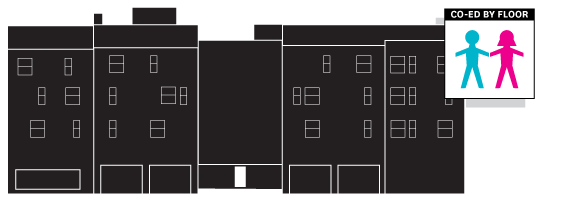 Click to view the inside diagram of Gerig Hall!