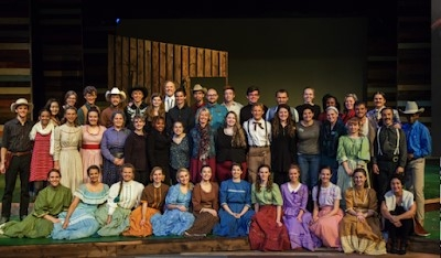 The Cast of Oklahoma!
