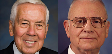 Richard Lugar and Lee Hamilton