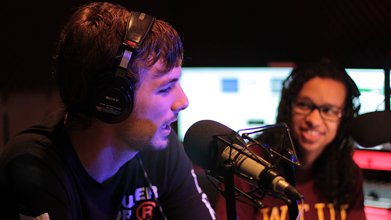 WTUR is Taylor's student-run online radio station