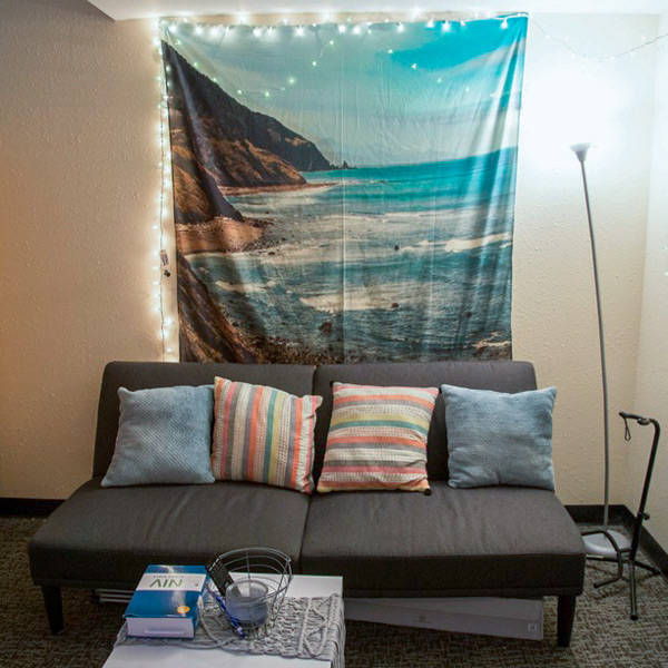 Enjoy spacious rooms you can personalize with your roommates.