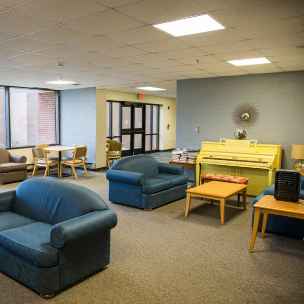Gerig Hall offers a special family-style environment.