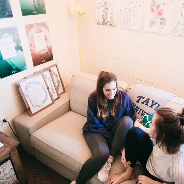 Rich friendships are formed in the day-to-day living in Olson.