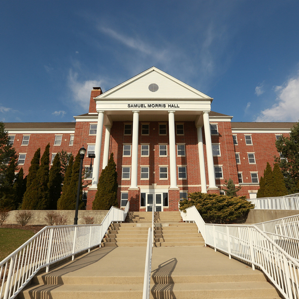 Samuel Morris Hall is one of Taylor's largest residence halls for men.