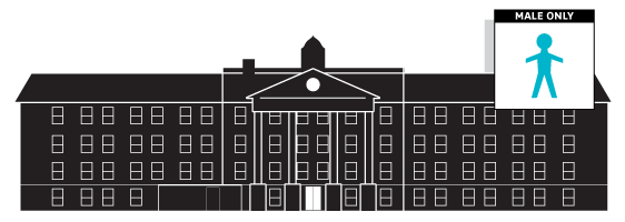 Click to view the inside diagram of Morris Hall!